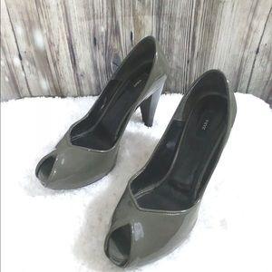 Zara Womens platform heels